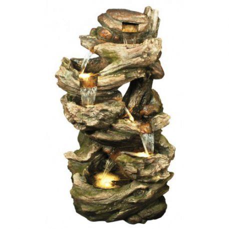 фонтан, каскад Large 6 Fall Woodland 102cм