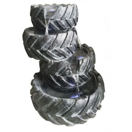 57cm 4 Stacked Tyres