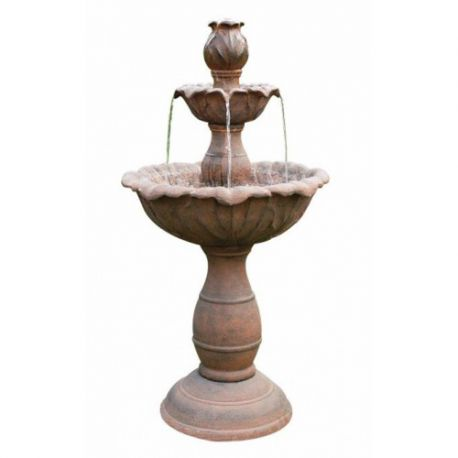 Fontanna, kaskada 3 Tier Rust Fountain 104cm