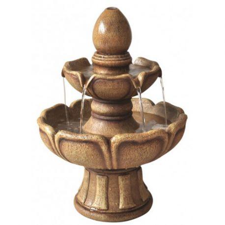 100cm 3 Tier Classic Stone Fountain