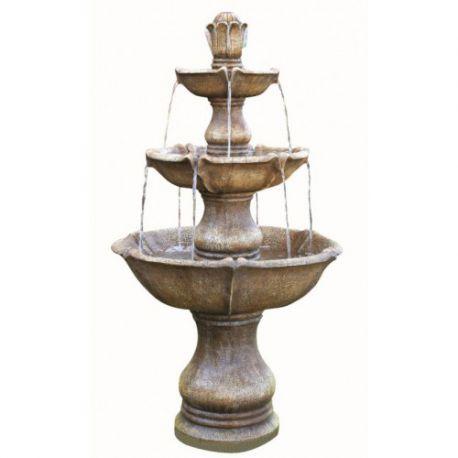 Fontanna, kaskada Large 4 Tier Classic Fountain 146cm