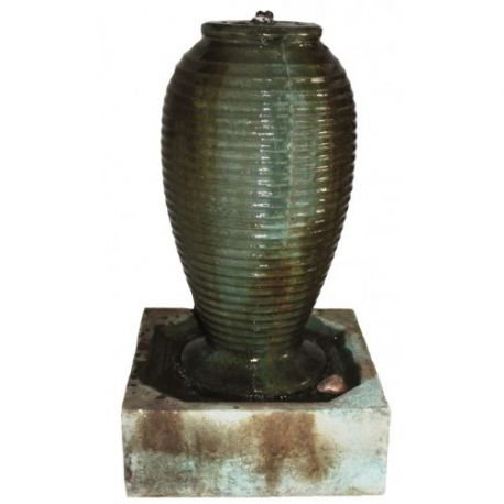 72cm Small Ribbed Jar Fountain