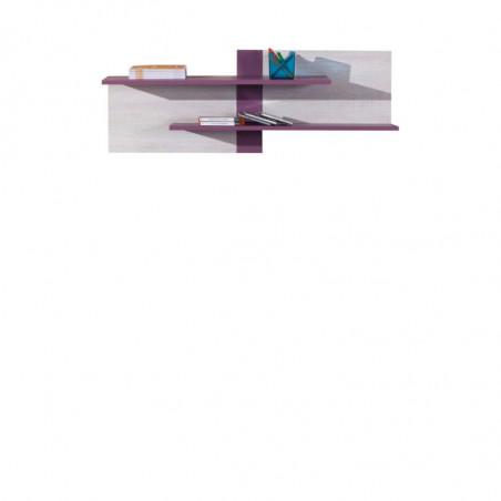 Kolekcja Princessa szafa ubraniowa 3-drzwiowa z 2 szufladami (z bieliźniarką)