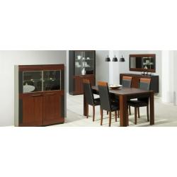 Collection Vievien 2 door display unit (optional lighting)