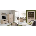Collection Desjo 2 door, 4 drawer sideboard