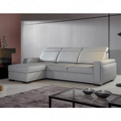 Kolekcja Malta  krzesło tapicerowane w tkaninie typu move biała