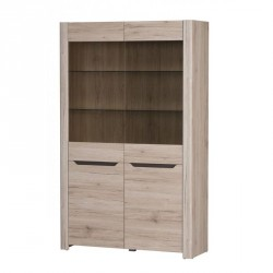 Collection Desjo 2 door display unit  (optional lighting)