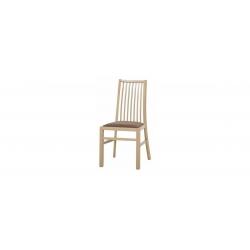 Kolekcja  Mars krzesło tapicerowane w tkaninie typu etna 15 kolor wenge