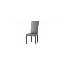 Collection Mars  upholstered chair with fabric - etna 15 colour wenge