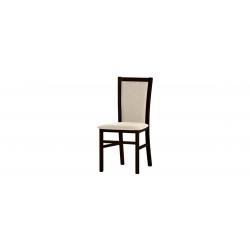Kolekcja  Saturn krzesło tapicerowane w tkaninie typu 005, kolor dąb sonoma