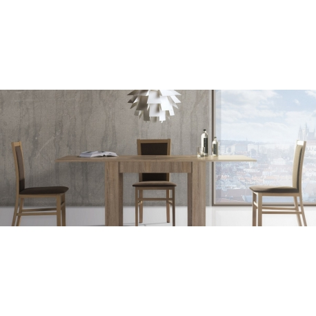 Collection Saturn  upholstered chair with fabric - sawana 05, colour white matt