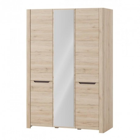 Collection Desjo 3 door wardrobe with mirror, (optional lighting)