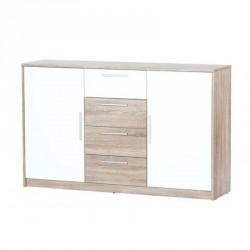 Kolekcja Milo komoda 2-drzwiowa z 4 szufladami