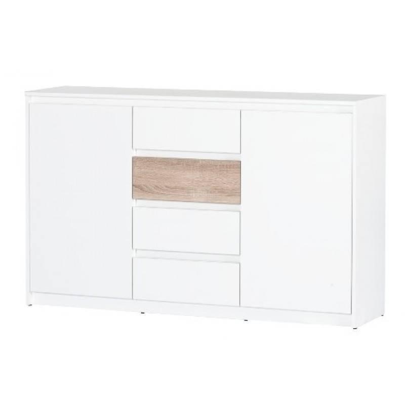 Kolekcja Wenecja komoda 2-drzwiowa z 4 szufladami