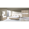 Кровать Margo 160x200 со стеллажем