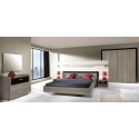 Margo Bed with frame 160x200