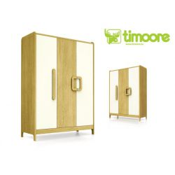 three-door wardrobe