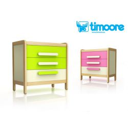Chest of drawers with 3...