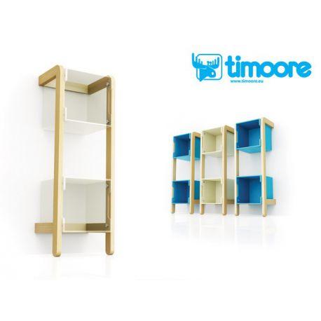 single bookshelf frame