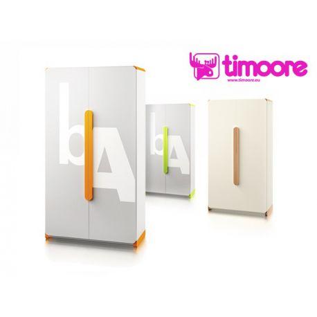 Two-door wardrobe