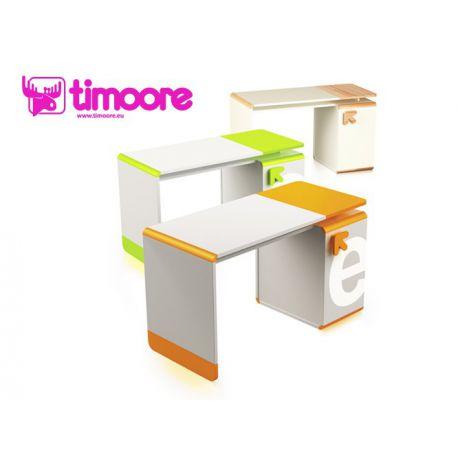biurko z kontenerkiem