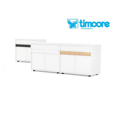 two door sideboard with drawer