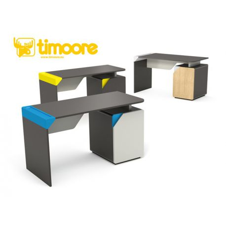 desk table with container