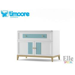 two-door one-drawer sideboard