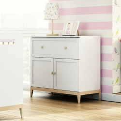 A two-door chest of drawers...