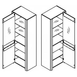 Collection Desjo 1 door display unit, L (optional lighting)