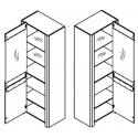 Kolekcja Desjo witryna 1-drzwiowa, L  (opcjonalne oświetlenie)