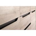 Collection Desjo 2 door, 4 drawer sideboard