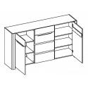 Kolekcja Desjo komoda 2-drzwiowa z 4 szufladami