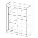 Collection Dover 2 door, 1 drawer, 1 flap door sideboard (optional lighting)