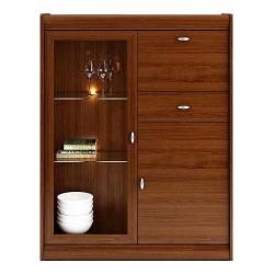 Kolekcja Dover komoda 2-drzwiowa z 1 klapą i 1 szufladą (opcjonalne oświetlenie)