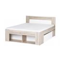 Kolekcja Milo łoże 140 + 2 szafki nocne wysuwane z 2 szufladami (bez materaca i rusztu)