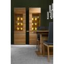 Kolekcja Torino witryna 2-drzwiowa P (oświetlenie opcjonalne)