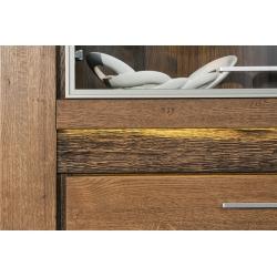 Kolekcja Velvet  witryna 4-drzwiowa (oświetlenie opcjonalne)