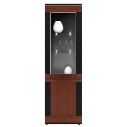 Collection Vievien 1 door display unit L (optional lighting)