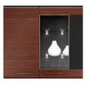 Collection Vievien 2 door wall display unit (optional lighting)