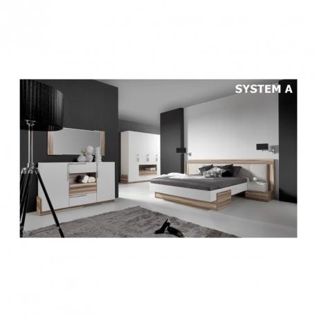 Morena Bed with frame 160