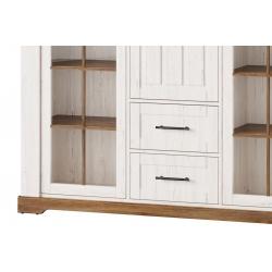 Bellis 10 Witryna 1-drzwiowa z 1 szufladą wewnętrzną (lewa)