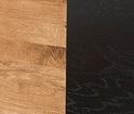 Honey oak with black matt