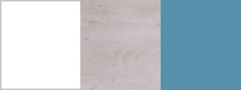 White Lux / Oak / Maritime